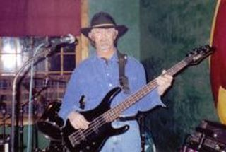 Kirby (Pete) Lester bangin' the Bass